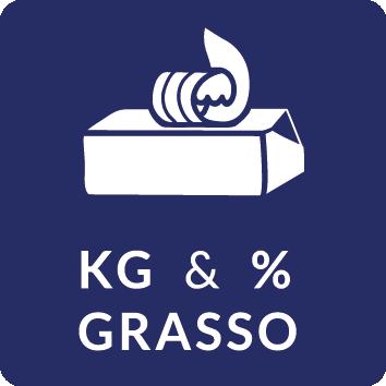 KG e Percentuale grasso