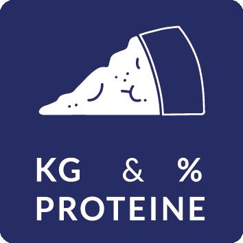 KG percentuale proteine
